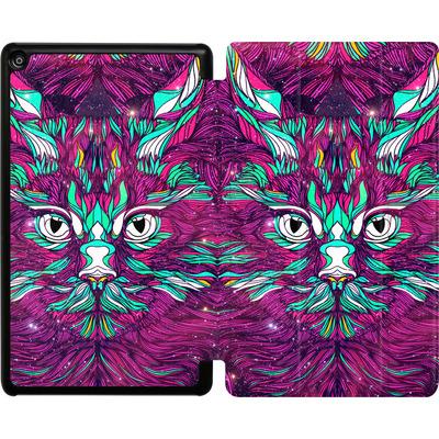 Amazon Fire HD 8 (2017) Tablet Smart Case - Space Cat von Danny Ivan