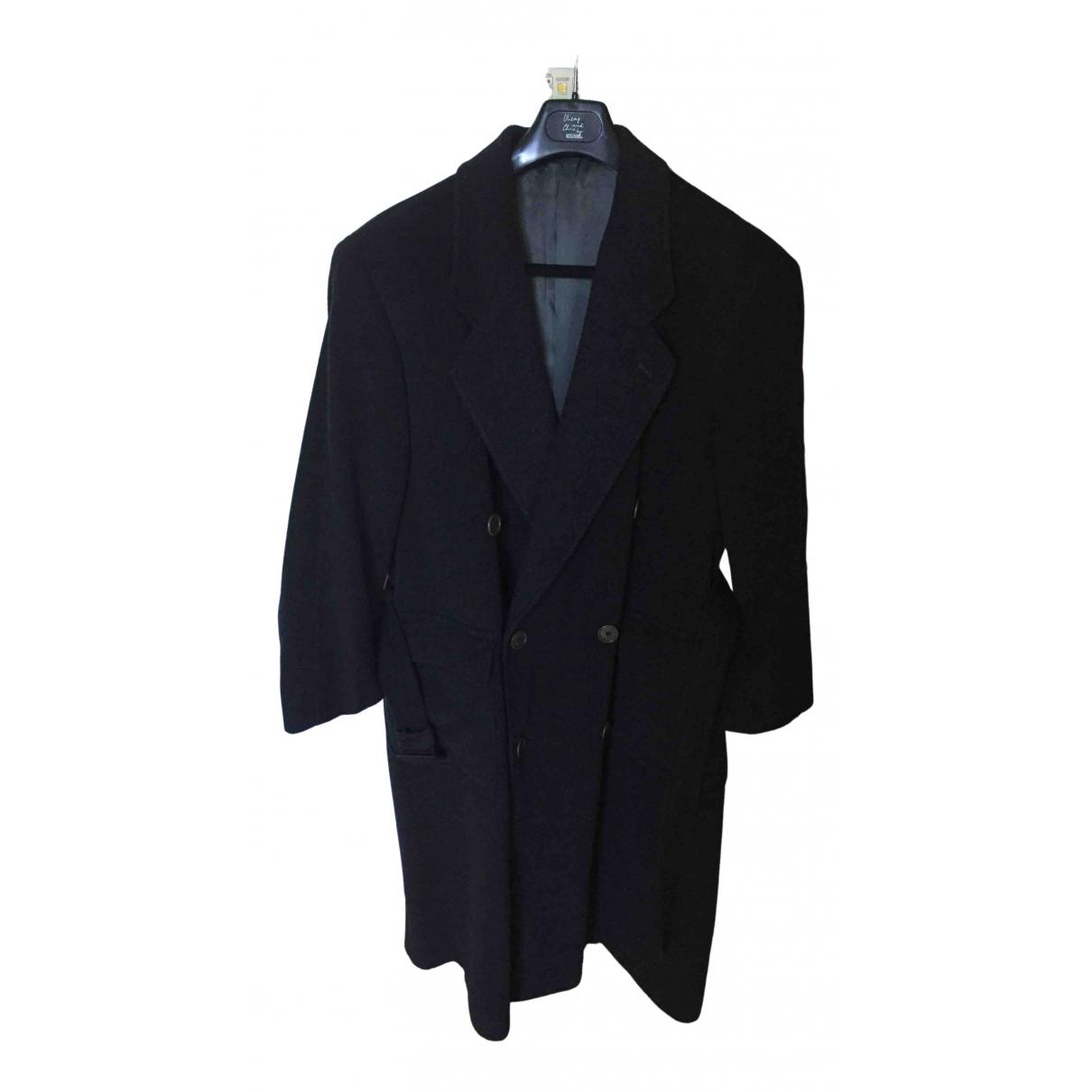 Giorgio Armani \N Grey Wool coat  for Men L International