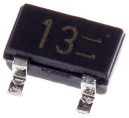 ROHM , DTA143EKAT146 PNP Digital Transistor, 100 mA 4.7 kΩ, Ratio Of 1, 3-Pin SMT (5)