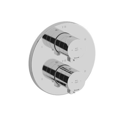 Paradox TPXTM46C 4-Way Thermostatic/Pressure Balance Coaxial Valve Trim  in