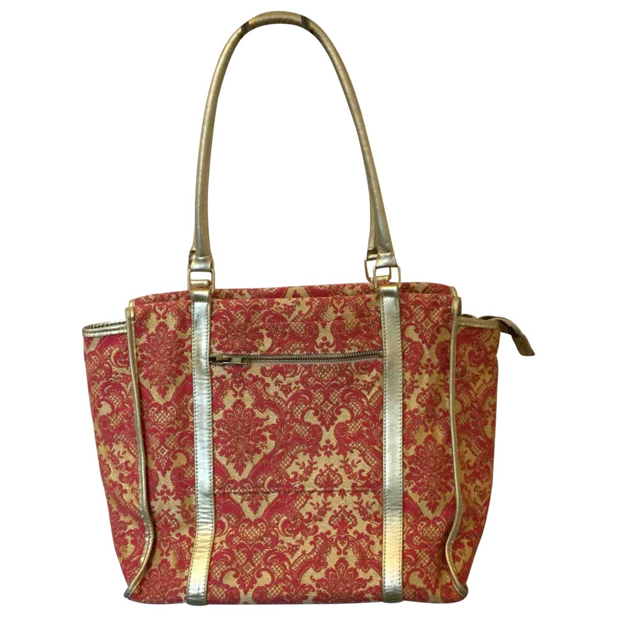 Non Signe / Unsigned \N Handtasche in Leinen