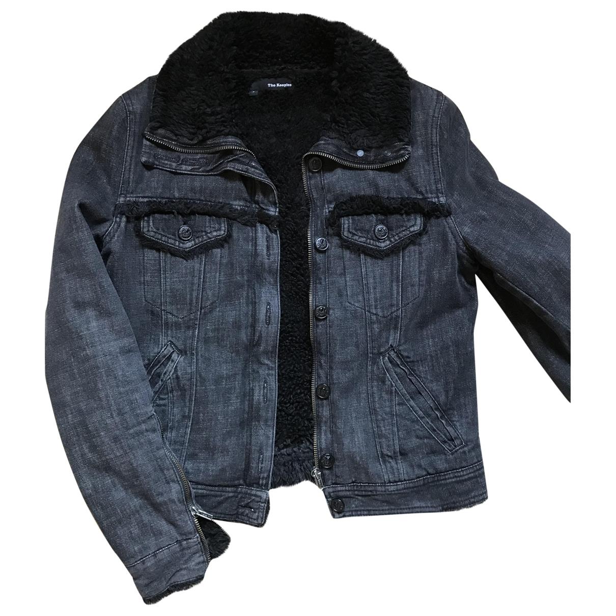 The Kooples \N Anthracite Denim - Jeans jacket for Women S International