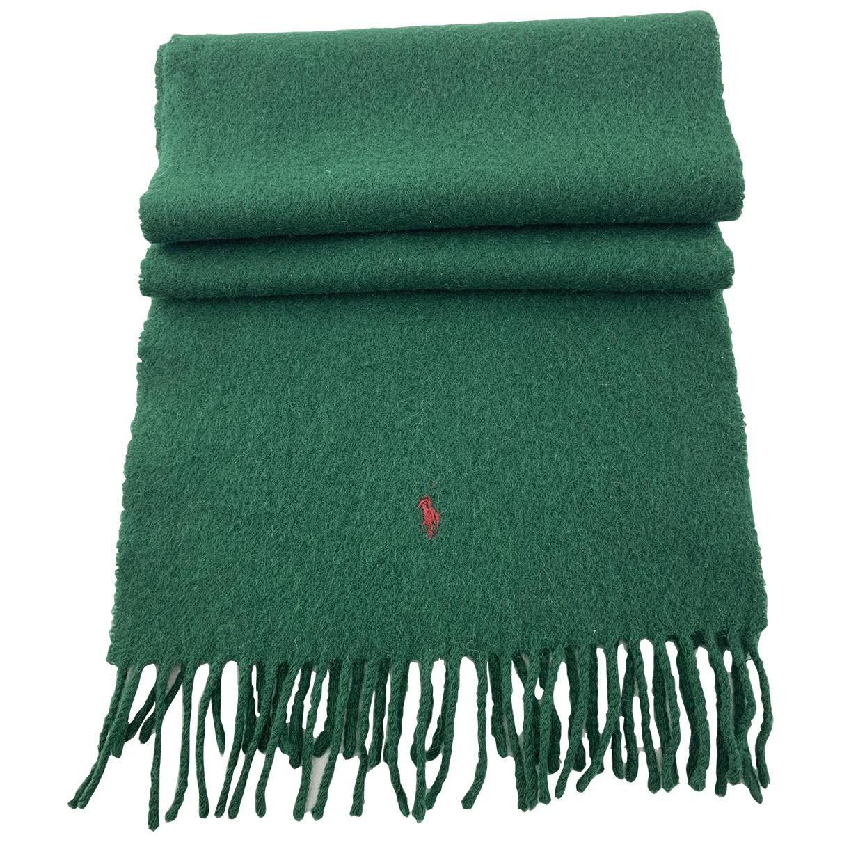 Polo Ralph Lauren - Foulard   pour femme en laine - vert