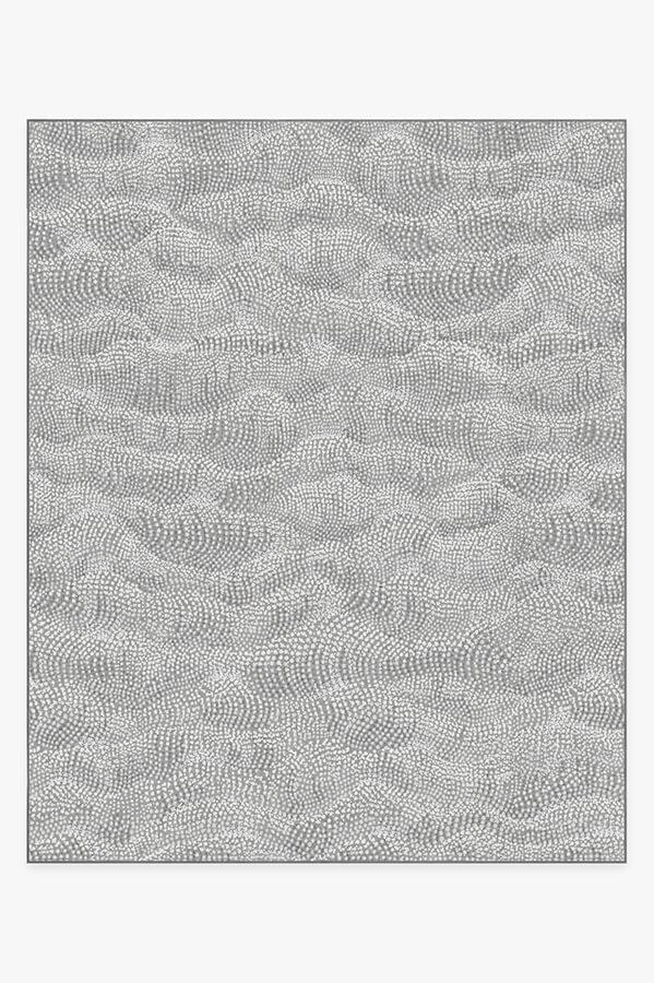 Washable Rug Cover | Sela Grey Rug | Stain-Resistant | Ruggable | 8'x10'