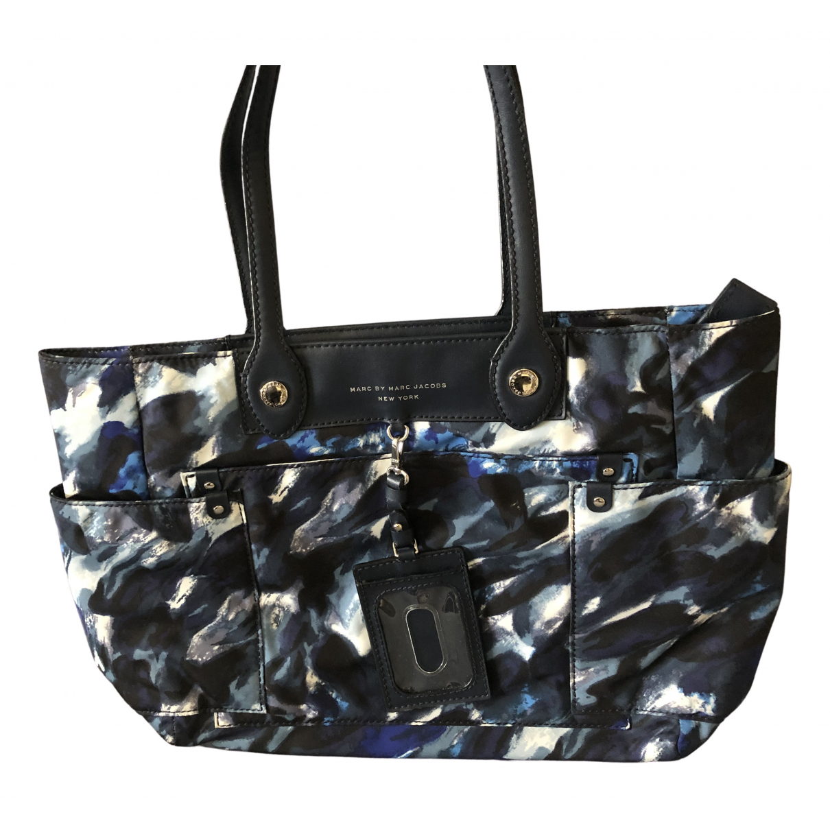 Marc By Marc Jacobs Pretty Nylon Handtasche in  Blau Polyester