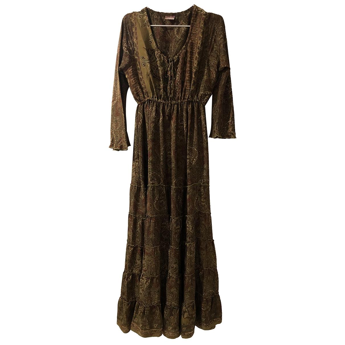 Maxi vestido de Seda Non Signe / Unsigned