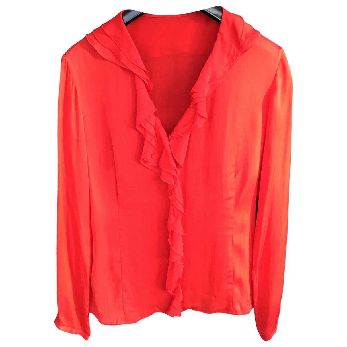 Carolina Herrera \N Red Silk  top for Women 38 FR