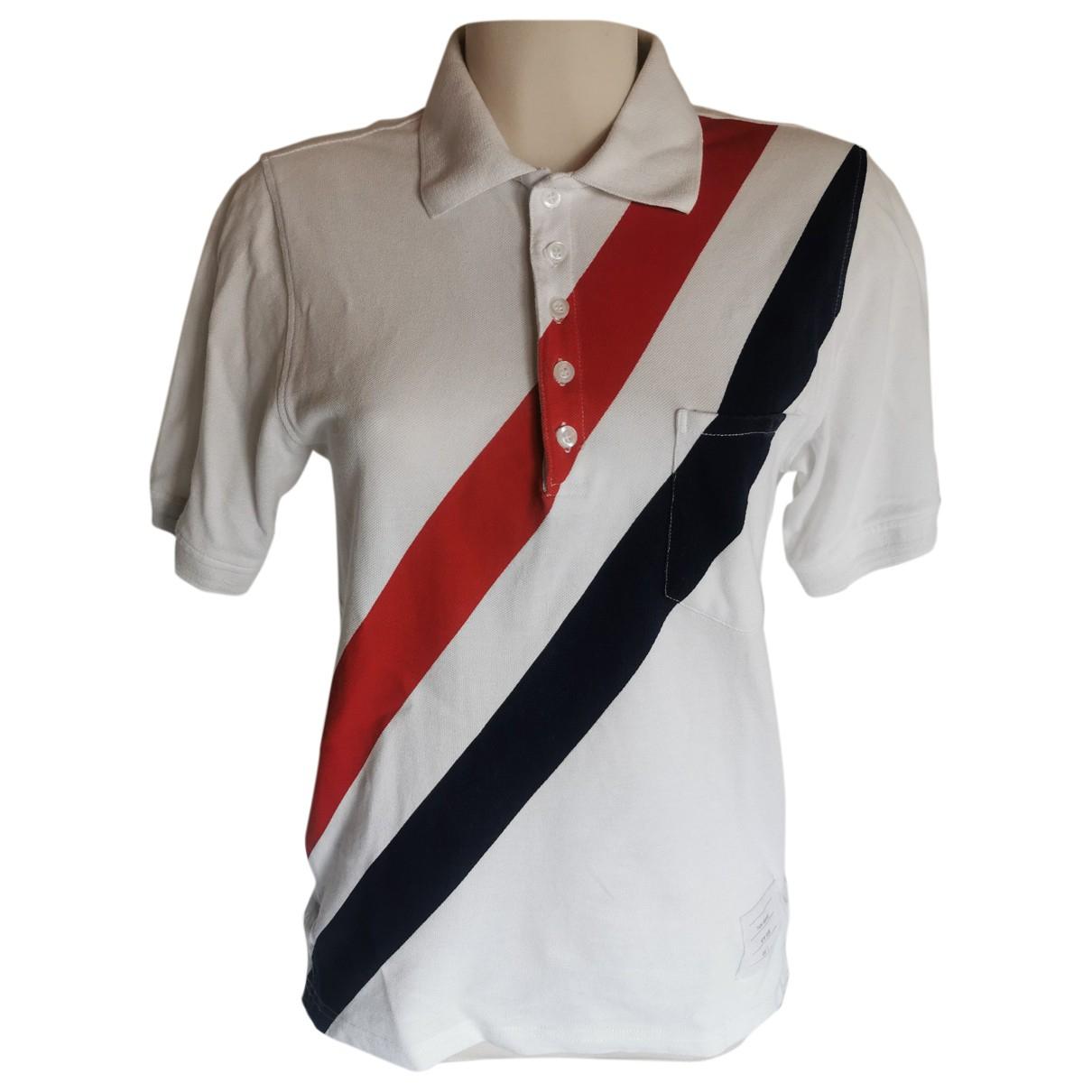 Thom Browne \N Poloshirts in  Weiss Baumwolle