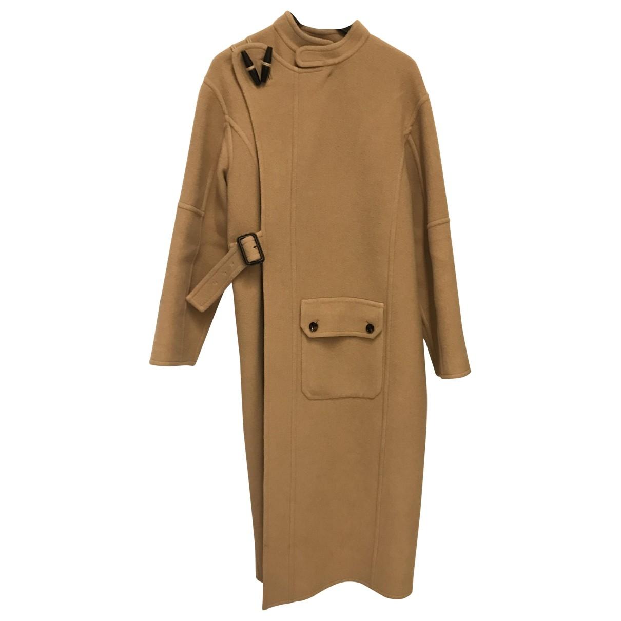 Joseph - Manteau   pour femme en laine - camel