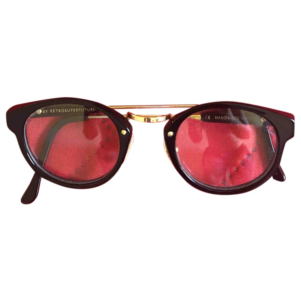 Retrosuperfuture N Black Sunglasses for Men N