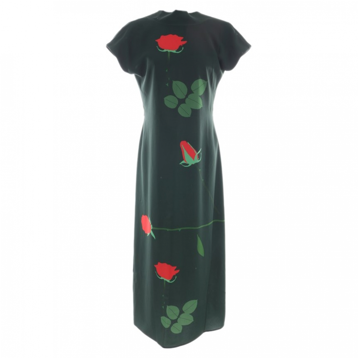 Non Signé / Unsigned \N Green dress for Women 40 FR