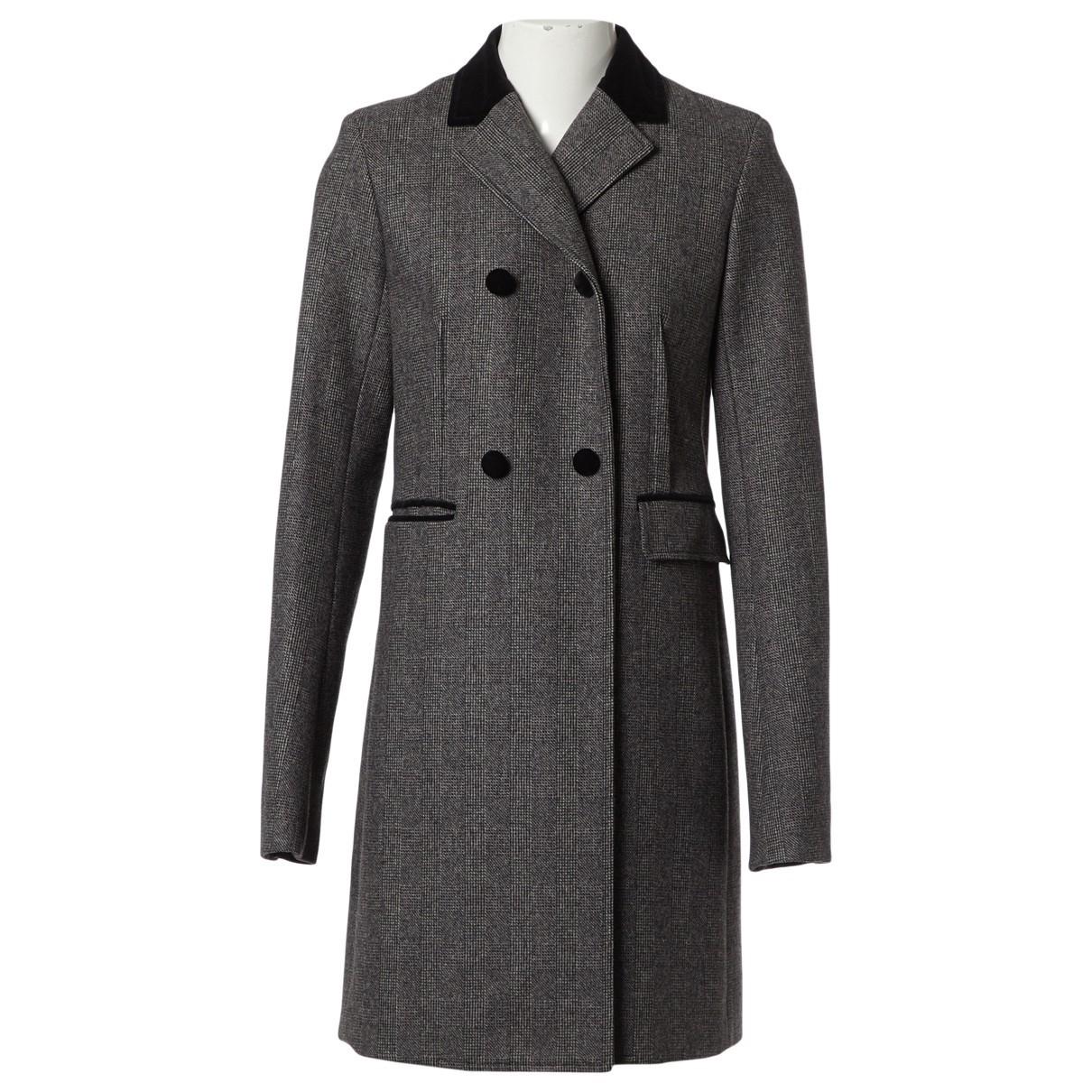 3.1 Phillip Lim - Manteau   pour femme en laine - gris