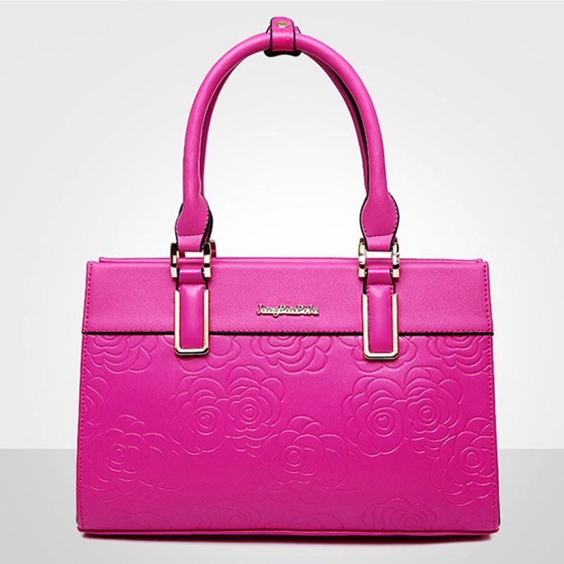 Ericdress Graceful Floral Embossing Women Handbag