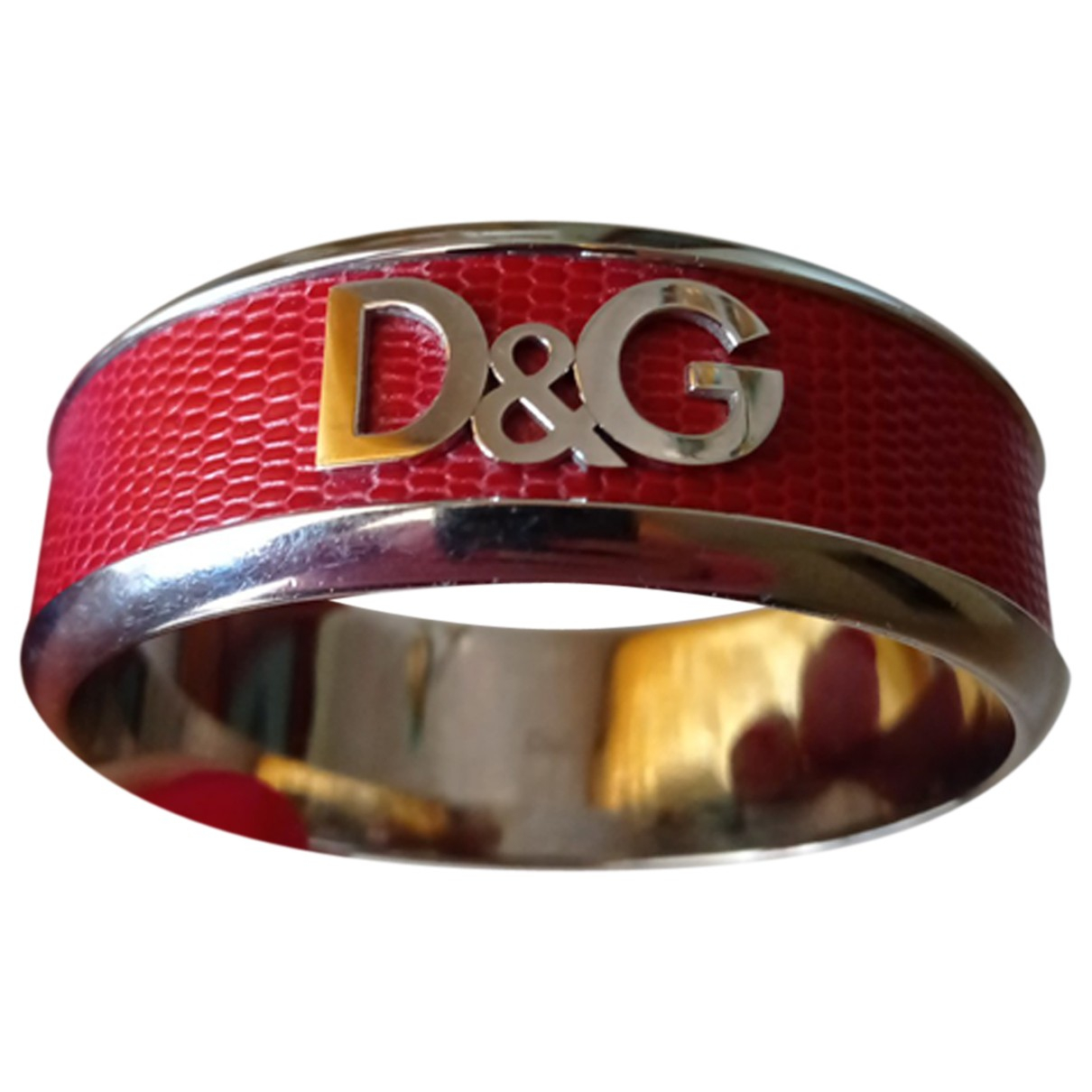 D&g \N Armband in  Rot Stahl