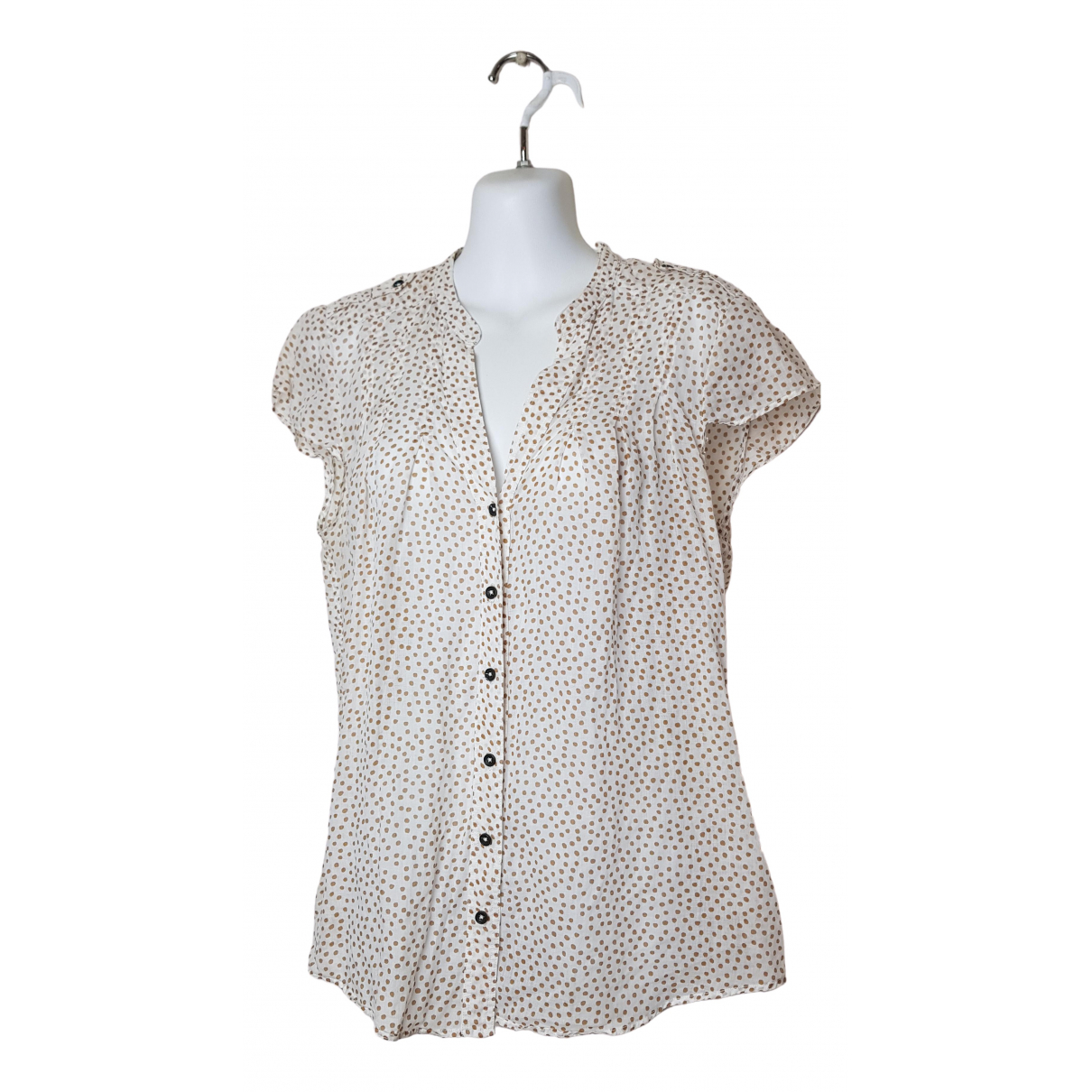 Massimo Dutti \N Brown Linen  top for Women 42 IT