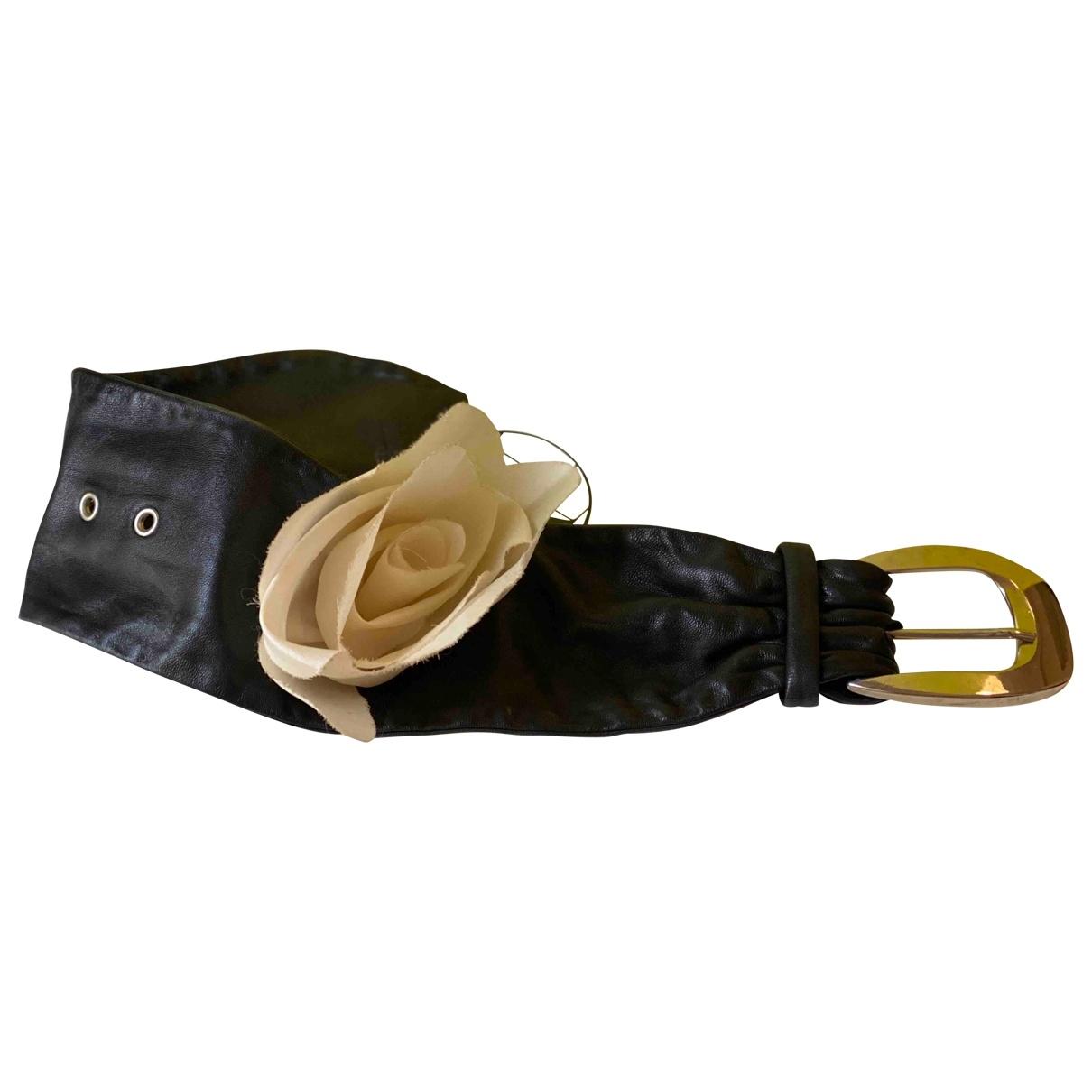 3.1 Phillip Lim - Collier   pour femme en cuir - noir
