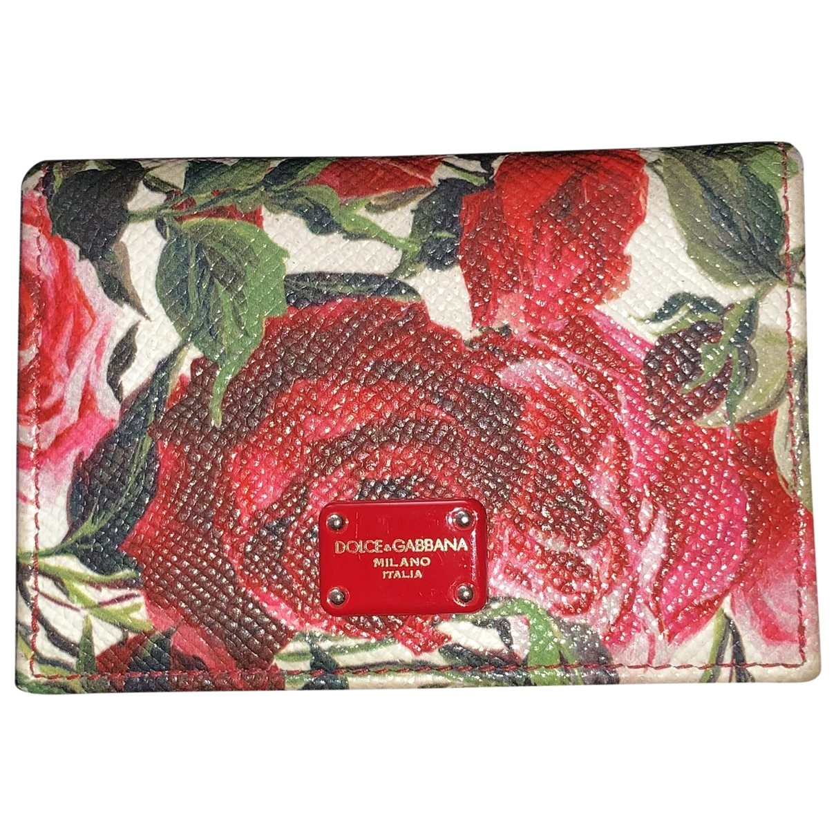 Dolce & Gabbana \N Red Leather Purses, wallet & cases for Women \N
