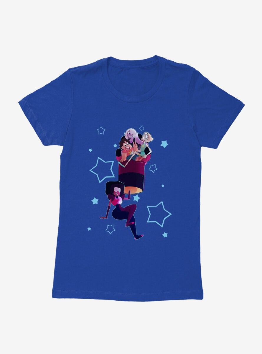 Steven Universe Hold Em High Character Womens T-Shirt