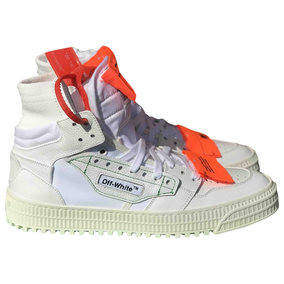 Off-white 3.0 Polo White Leather Trainers for Women 35 EU