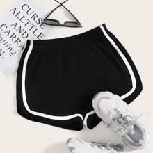 Striped Tape Shorts