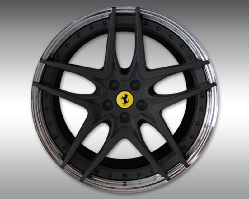Novitec F4 488 34 NF7 22x12 Black Rear Forged Wheel Ferrari 488 GTB | 488 Spider 15-17