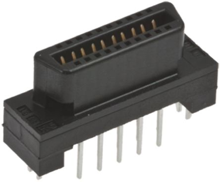 Hirose , FX2 1.27mm Pitch 68 Way 2 Row Straight PCB Socket, Through Hole, Solder Termination