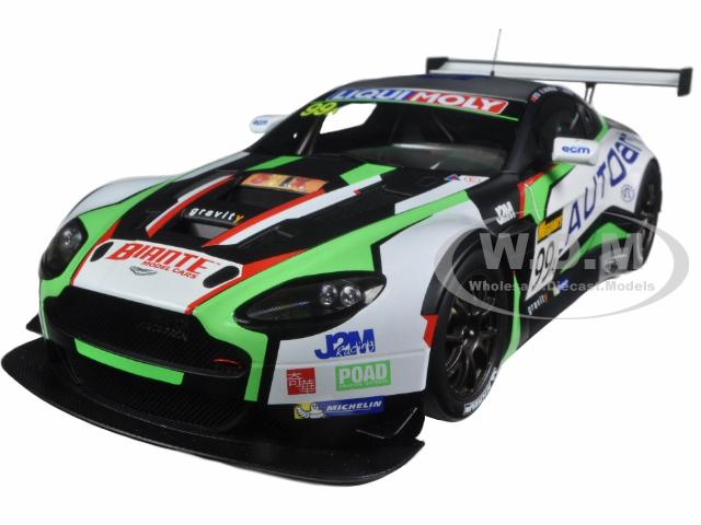 Aston Martin V12 Vantage Bathurst 12hour Endurance Race 2015 99 JM. Merlin / J. Venter / F. Yu 1/18 Model Car  by Autoart