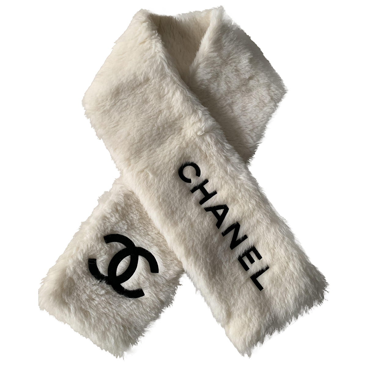 Chanel \N Schal in  Weiss Synthetik