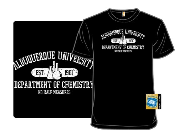 Respect The Chemistry T Shirt