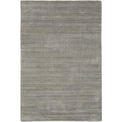 Costine CSE-1001 2 x 3 Rectangle Modern Rug in Charcoal  Medium Gray
