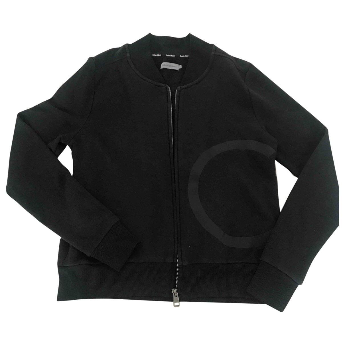 Calvin Klein \N Black Cotton Knitwear for Women S International