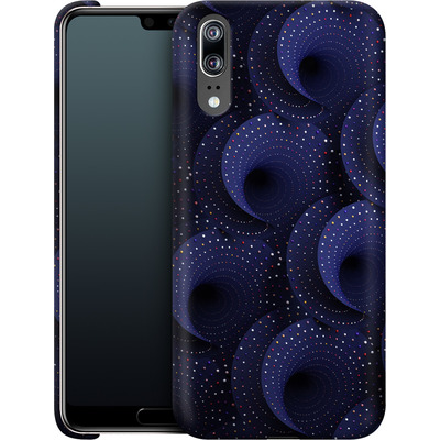 Huawei P20 Smartphone Huelle - Spiral Pattern von Danny Ivan