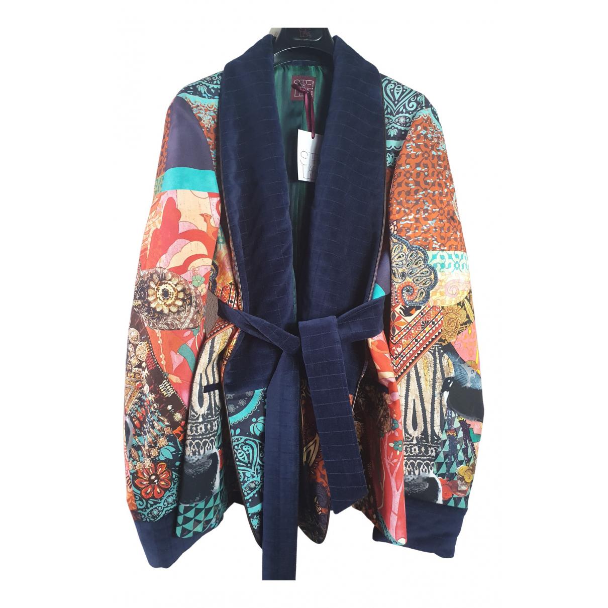 Stella Jean \N Multicolour Cotton jacket  for Men 48 IT