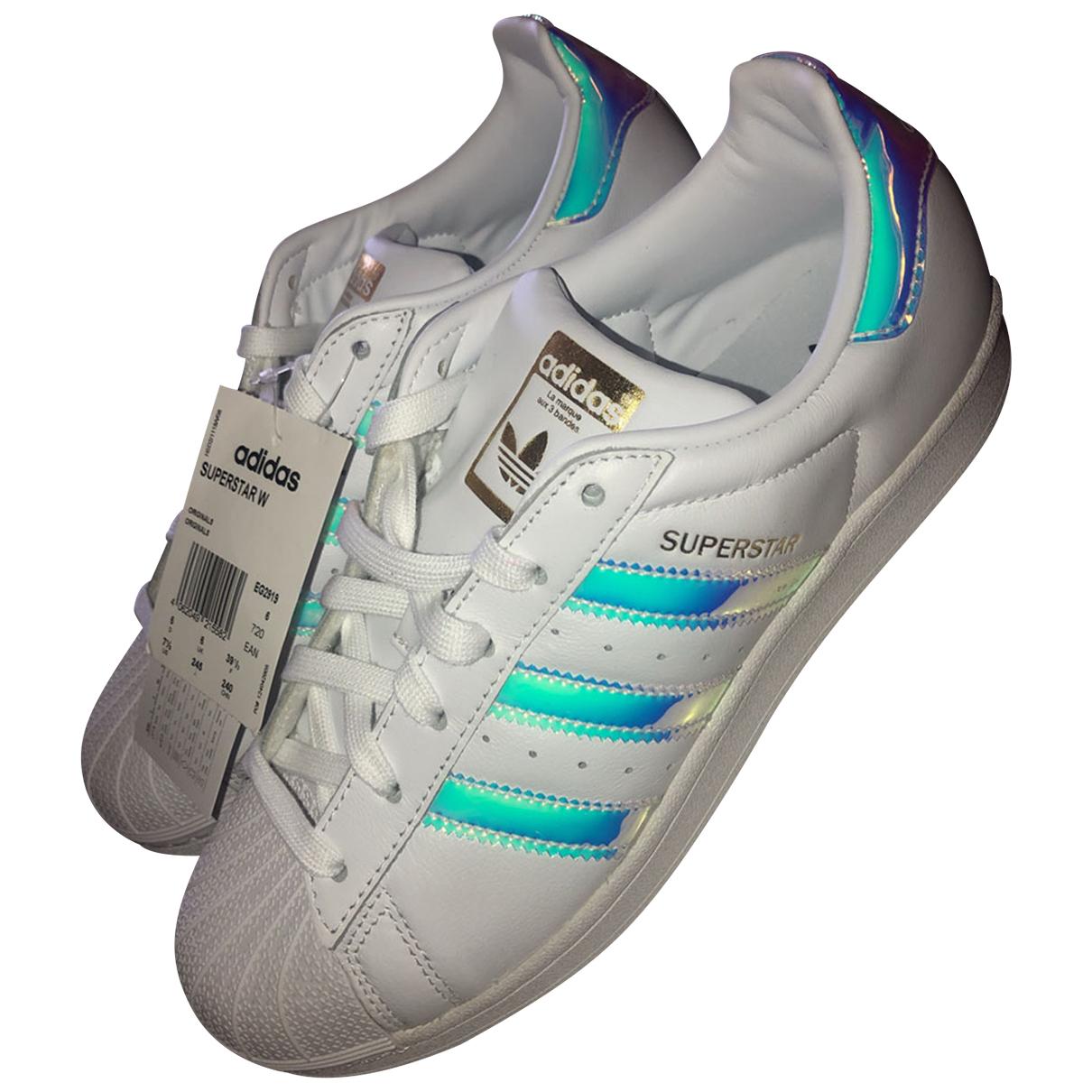 Deportivas Superstar de Cuero Adidas