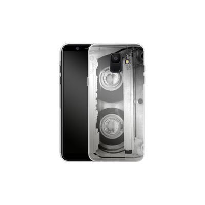 Samsung Galaxy A6 Silikon Handyhuelle - Mixtape One von Claus-Peter Schops