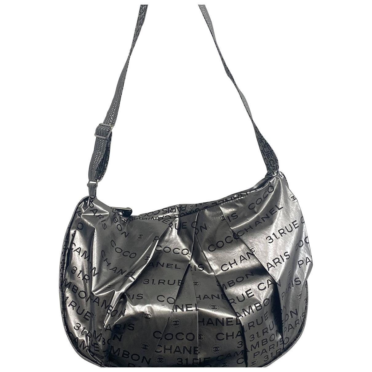 Chanel \N Silver Cloth handbag for Women \N