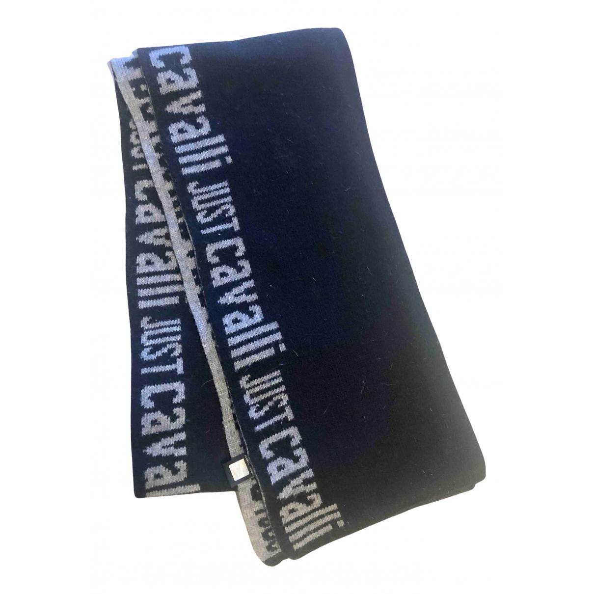 Just Cavalli N Black Wool scarf & pocket squares for Men N