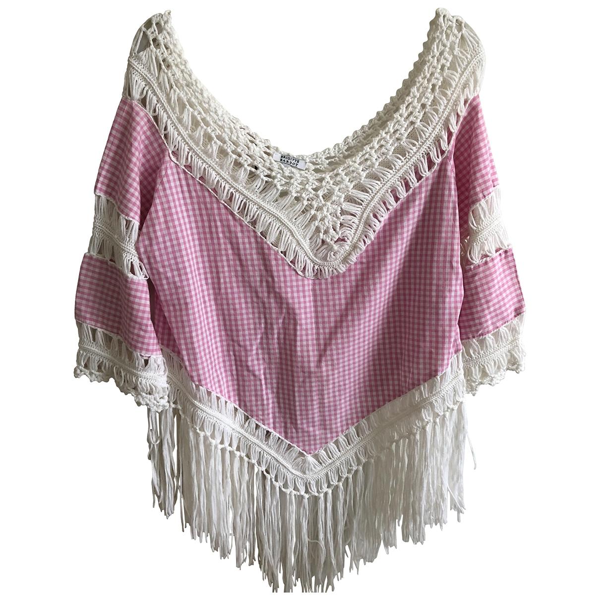 Brigitte Bardot \N Pink Cotton jacket for Women 36 FR