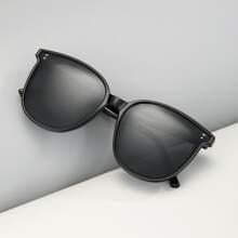 Maenner Polarisierte Sonnenbrille mit Reisspitze Dekor