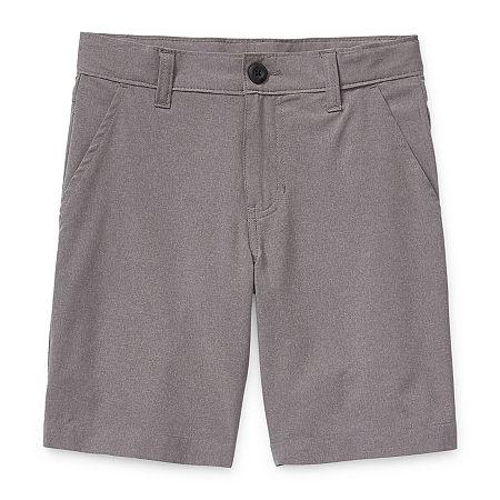 Arizona Little & Big Boys Hybrid Short, 20 , Gray