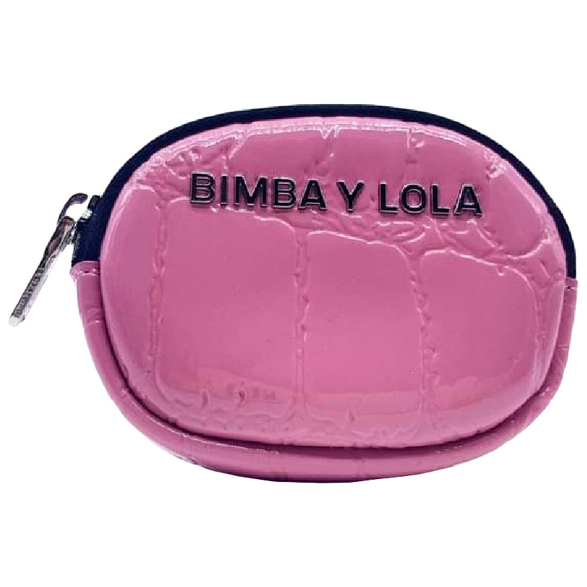 Bimba Y Lola \N Kleinlederwaren in Lackleder