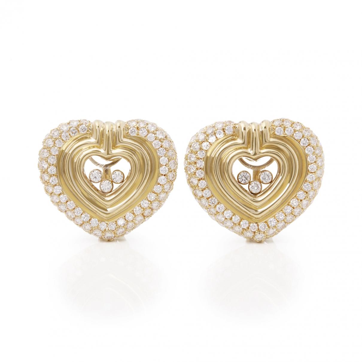 Chopard Happy Diamonds Yellow Yellow gold Earrings for Women \N