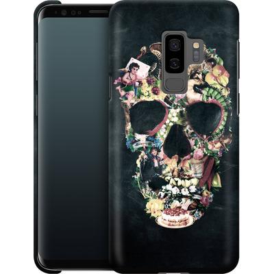 Samsung Galaxy S9 Plus Smartphone Huelle - Vintage Skull von Ali Gulec