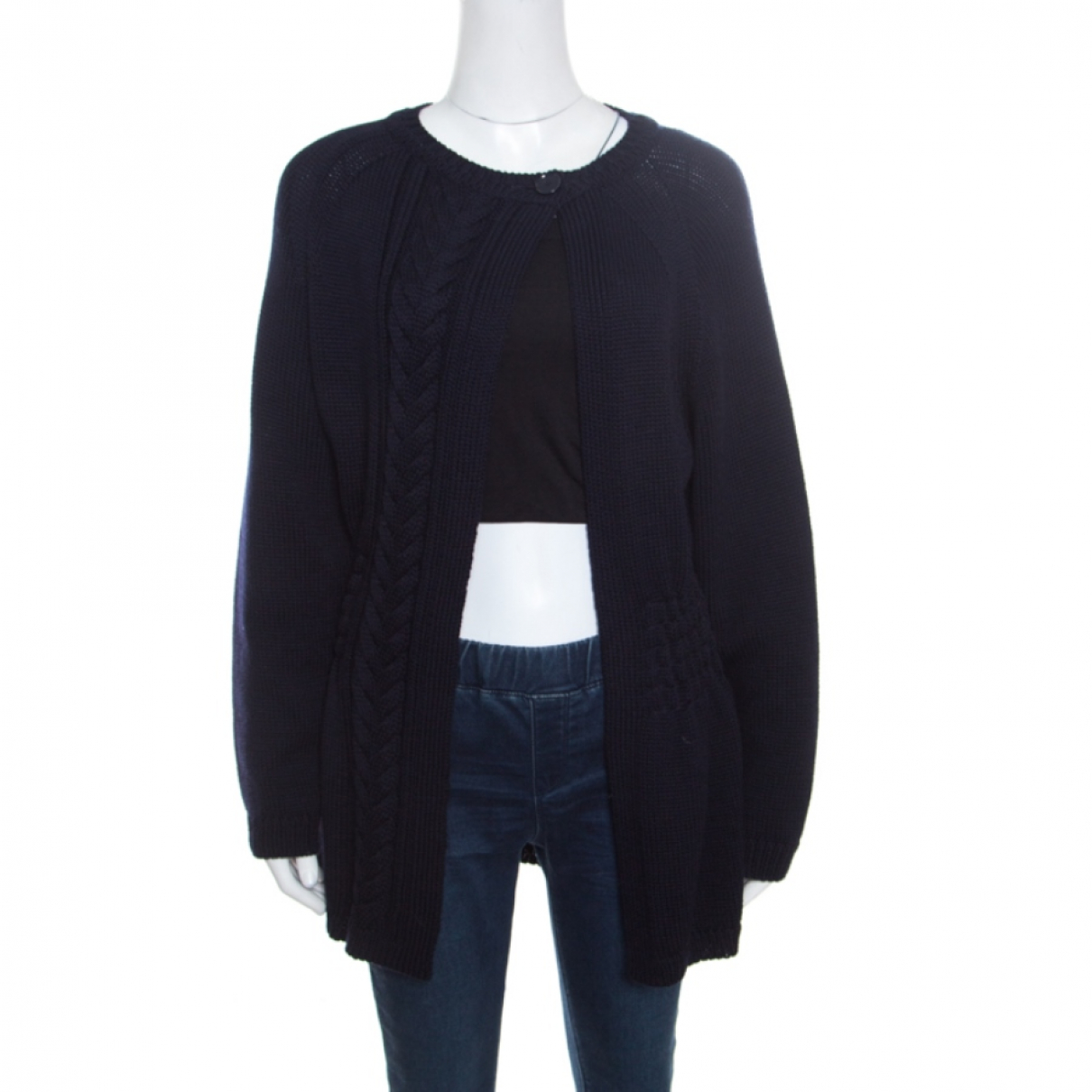 Dior N Blue Wool jacket for Women 6 US