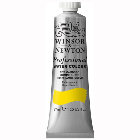 Winsor & Newton® Professional Water Colour™ Paint Tube, 37 ml in New Gamboge | Michaels®