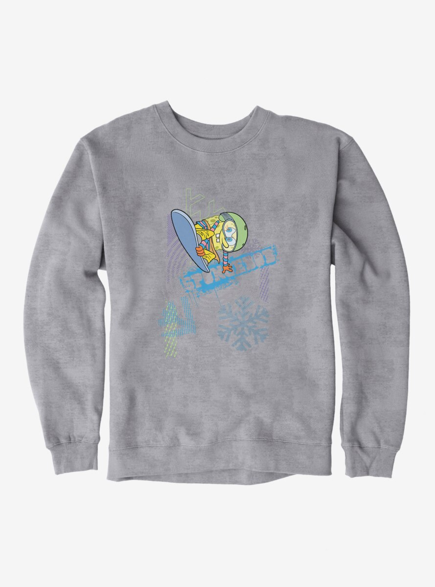 SpongeBob SquarePants Snowboard Tricks Sweatshirt