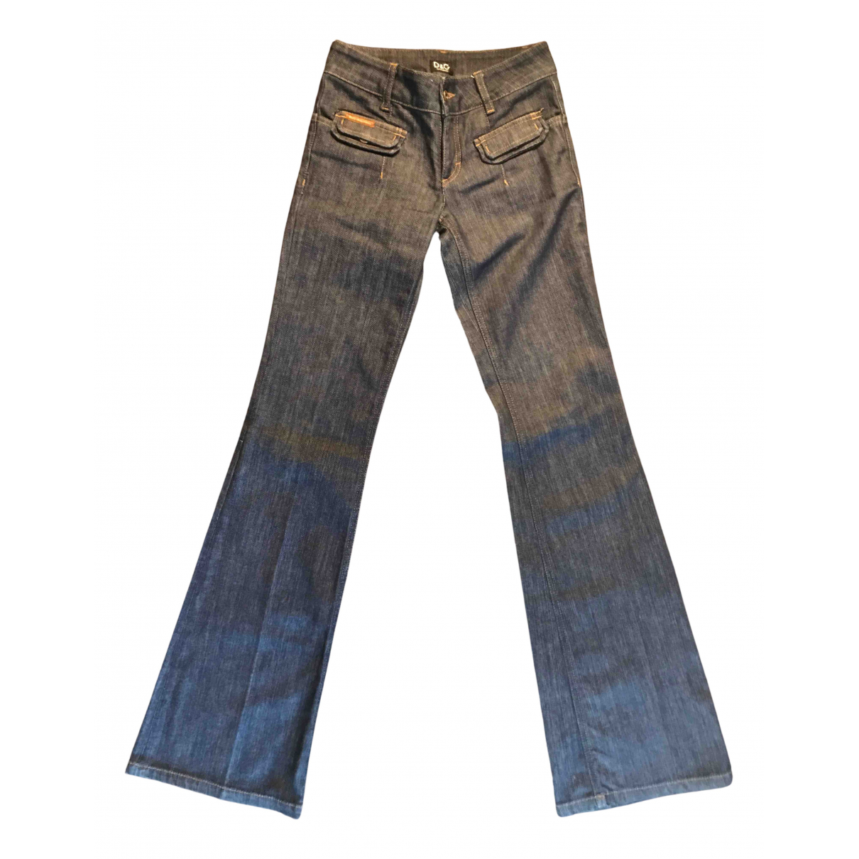 Pantalon en Denim - Vaquero Azul D&g