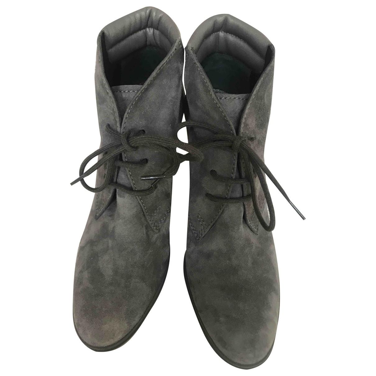 Botas con cordones de Cuero Hogan
