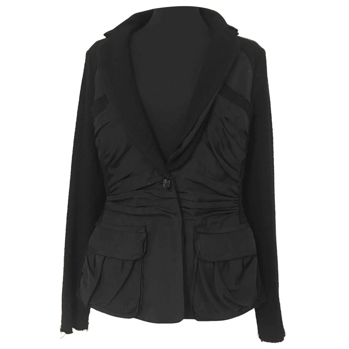 Nina Ricci - Veste   pour femme en laine - noir