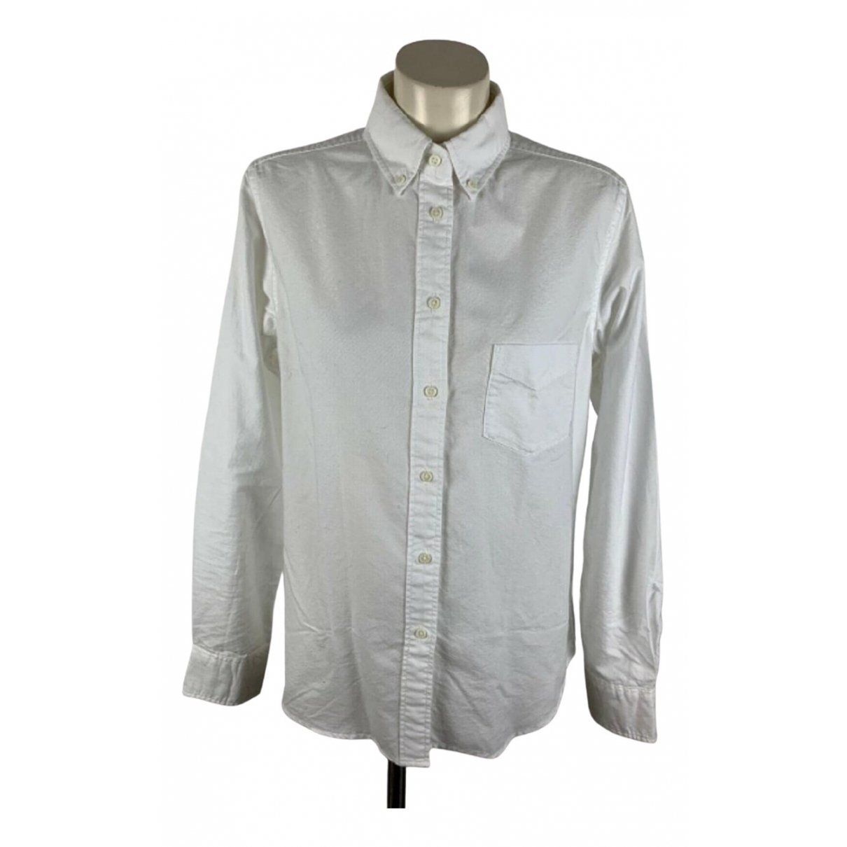 Uniqlo \N White Cotton  top for Women M International